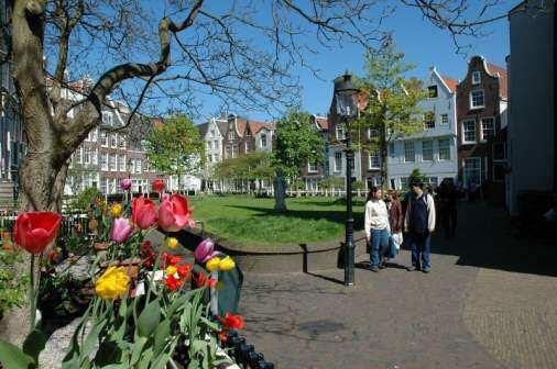 Begijnhof i Amsterdam - Foto: Gaute Nordvik