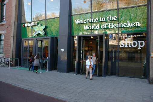 Heineken Experience i Amsterdam - Foto: Gaute Nordvik