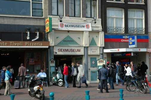 Venustempel Sexmuseum i Amsterdam - Foto: Gaute Nordvik