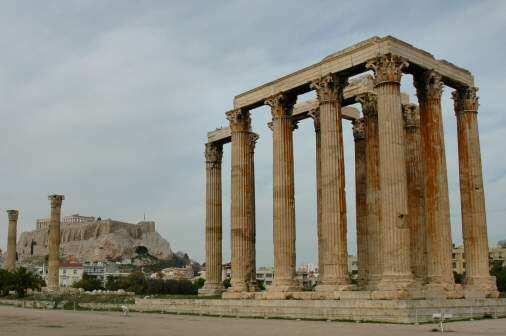 Zevs-tempelet i Athen