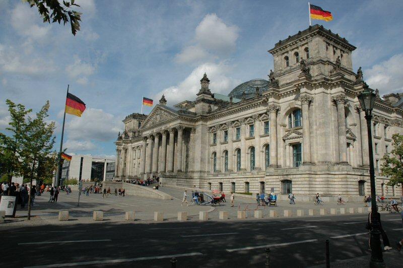 Riksdagen i Berlin. Foto: Gaute Nordvik