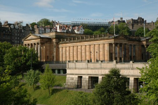 National Galleries i Edinburgh - Foto: Gaute Nordvik