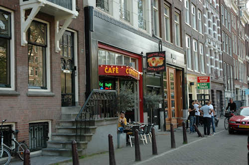 Coffeeshops i Amsterdam - Foto: Gaute Nordvik