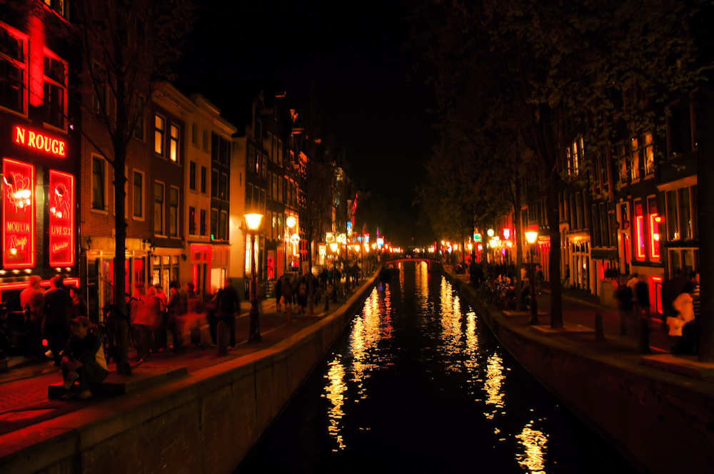 Amsterdam Red Light District — Foto: Gaute Nordvik