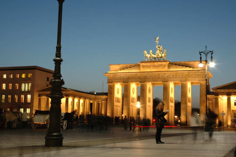 Brandenburger Tor i Berlin - Foto: Gaute Nordvik