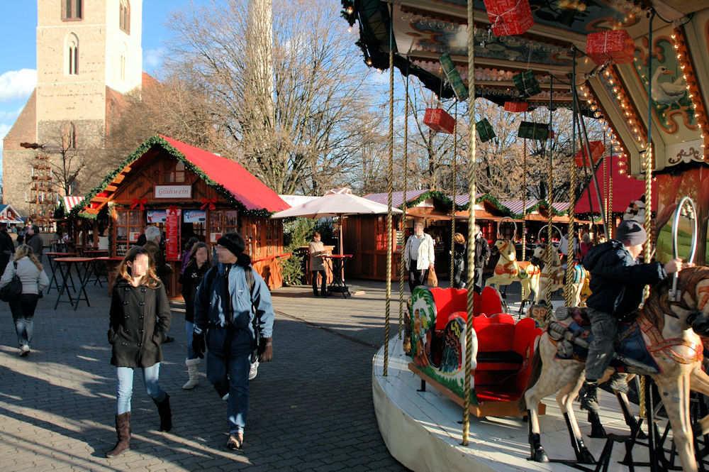 Julemarkedet på Alexanderplatz i Berlin – Foto: Gaute Nordvik