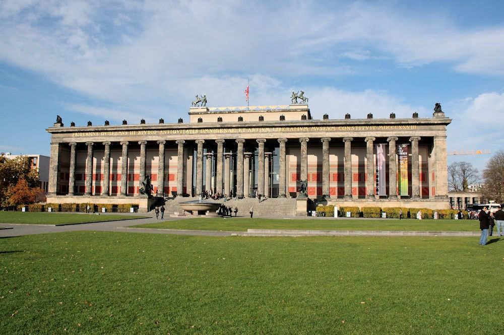 Lustgarten med Altes Museum i bakgrunnen - Foto: Gaute Nordvik