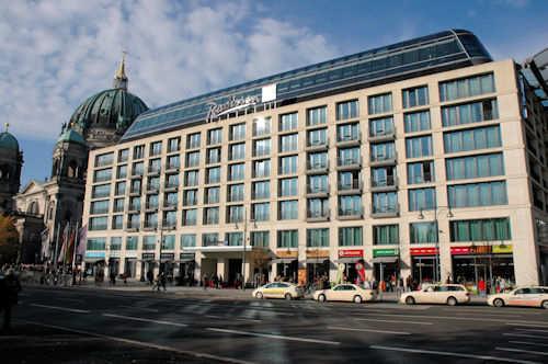 Radisson Blu Hotel i Berlin