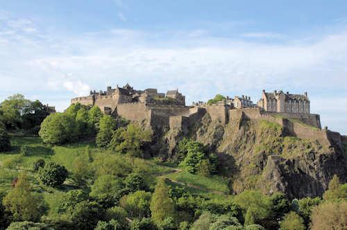 Flybilletter Edinburgh