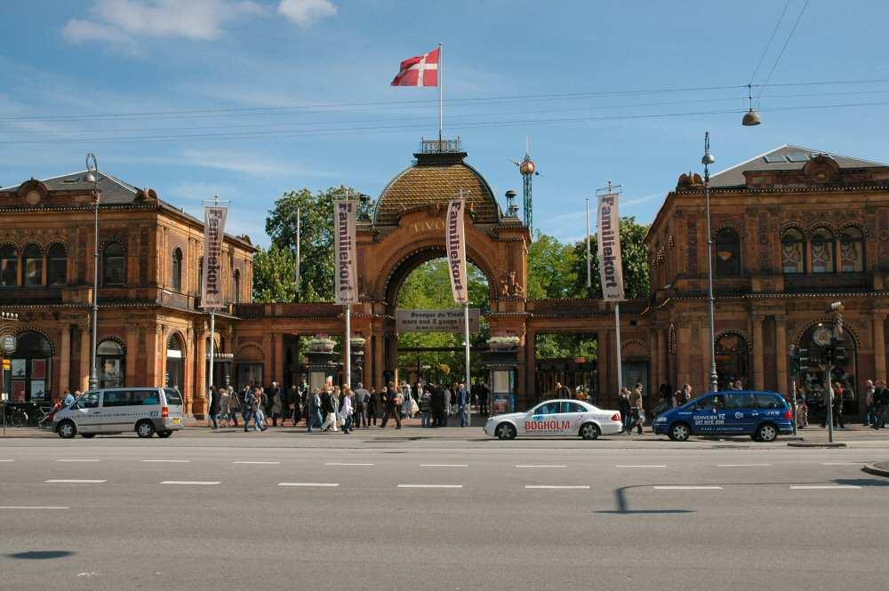 Tivoli i København — Foto: Gaute Nordvik