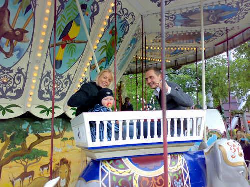 Karuseller for hele familien — Foto: Gaute Nordvik