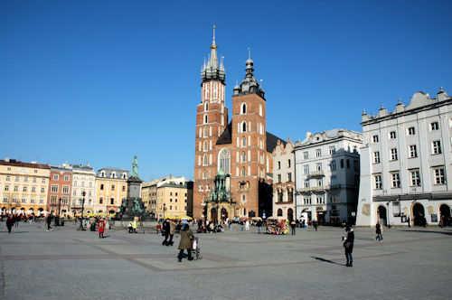 Markedsplassen i Kraków