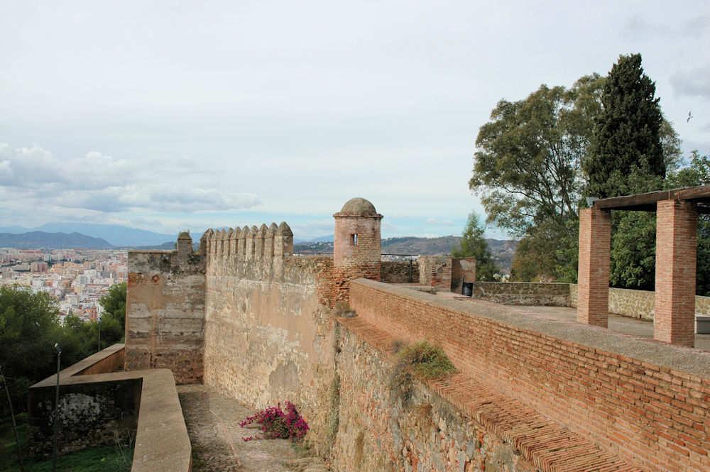Festningen på Gibralfaro i Málaga - Foto: Gaute Nordvik