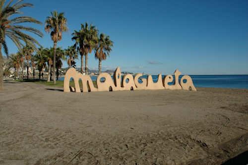 Stranden Malagueta i Málaga — Foto: Gaute Nordvik