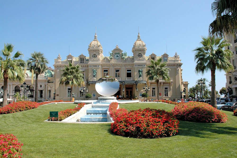 Casino de Monte-Carlo i Monaco - Foto: Gaute Nordvik