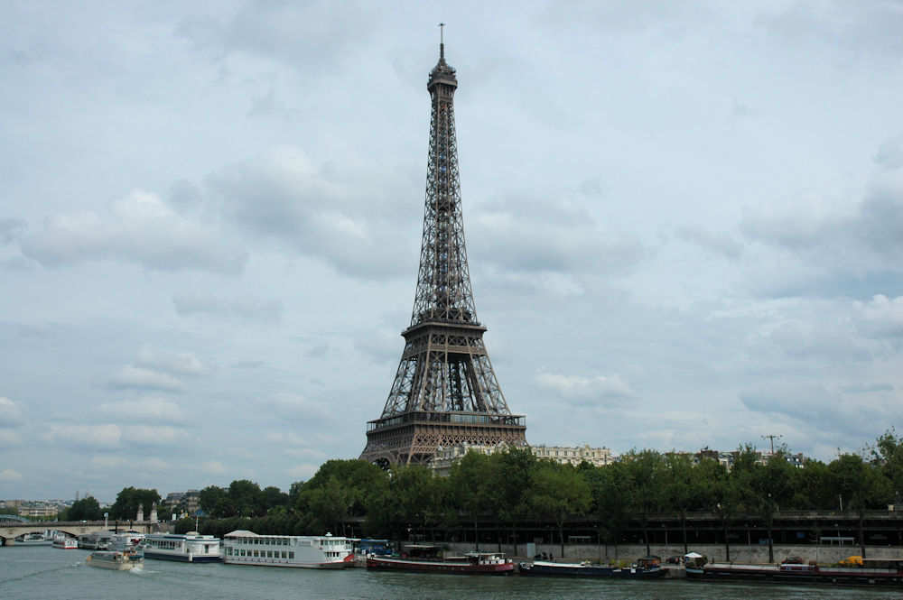 Eiffeltårnet i Paris - Foto: Gaute Nordvik
