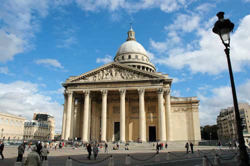 Kirken Panthéon ved Latinerkvarteret i Paris – Foto: Gaute Nordvik