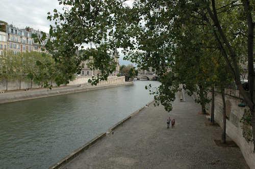 Paris: et uvirkelig virkelig øyeblikk