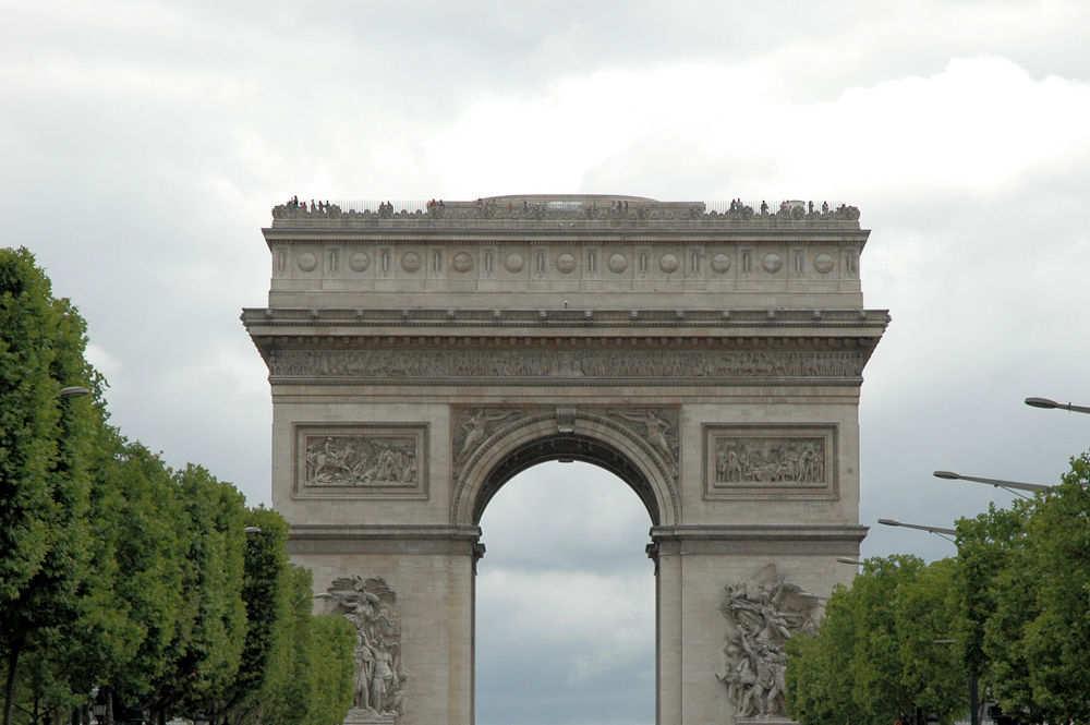 Triumfbuen i Paris - Foto: Gaute Nordvik