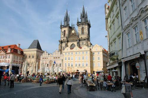 Flybilletter Praha