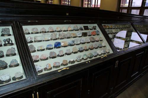 Få med deg museet bergarts- og mineralsamling - Foto: Gaute Nordvik