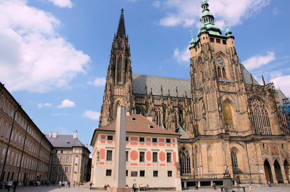 St. Vitus-katedralen i Praha - Foto: Gaute Nordvik