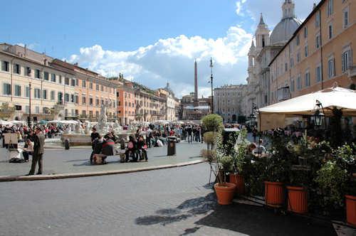 Piazza Navona — Foto: Gaute Nordvik
