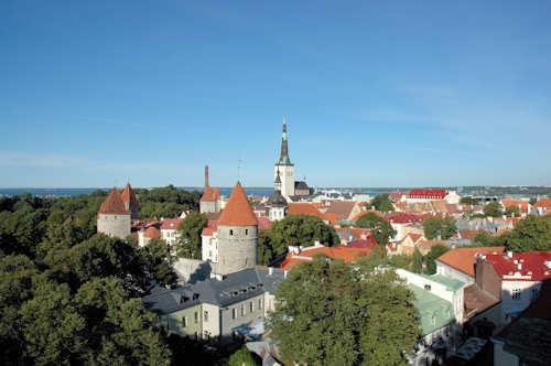 Flybilletter Tallinn