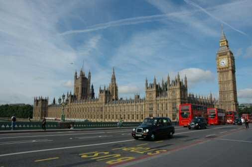Big Ben & House of Parliament i London