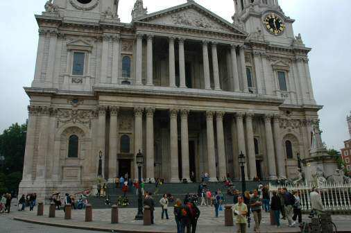 St Paul's Cathedral i London