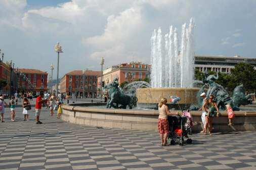 Place Masséna i Nice