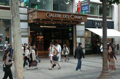 Champs-Élysées i Paris