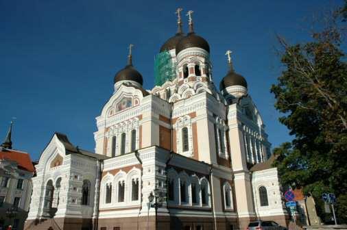 Aleksander Nevskij-katedralen i Tallinn
