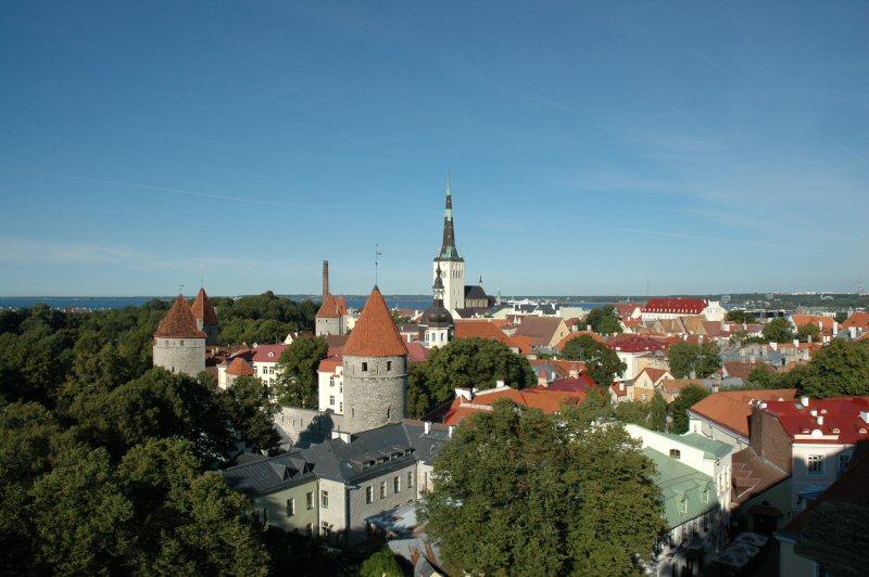 Gamlebyen i Tallinn – Foto: Gaute Nordvik