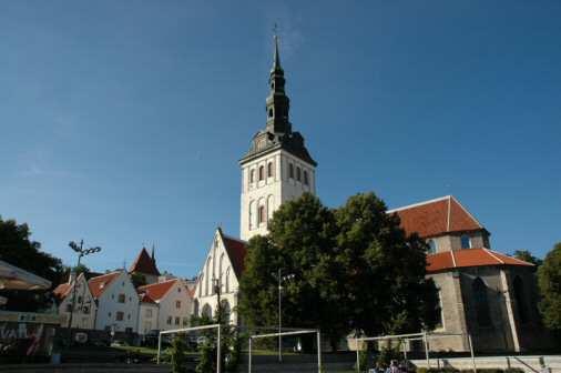 St. Nicholas kirke og Niguliste Museum i Tallinn