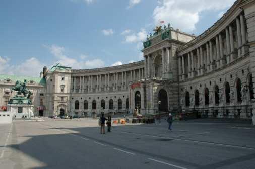 Hofburg i Wien