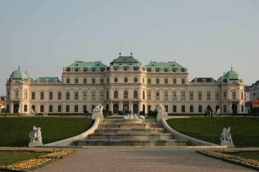 Belvedere i Wien